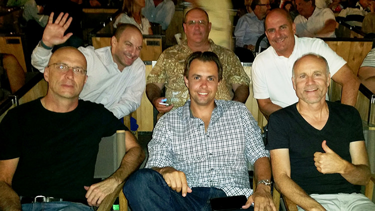 Britt and 5 Industry Professionals Enjoy an Evening of Networking and Jazz at the Hollywood Bowl